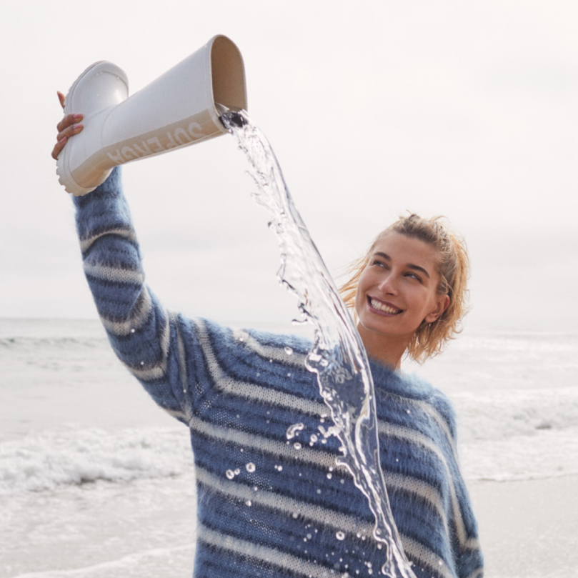 Superga launches its Fall/Winter 21 collection with new campaign featuring Hailey Bieber