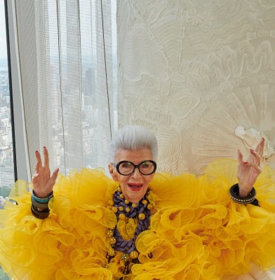 H&M celebrates Iris Apfel\'s 100th birthday with an Exclusive Collection